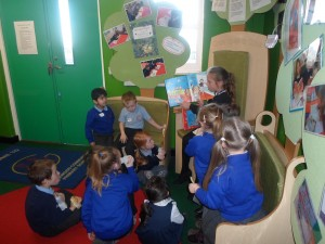 Story and milk time in our story area
