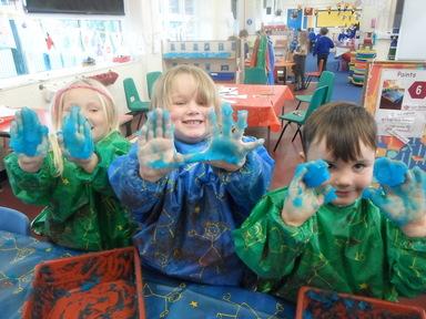 Reception Halloween fun !   Glynwood Primary