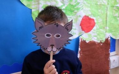 Watch out for the Big Bad Wolf in Year 1NS