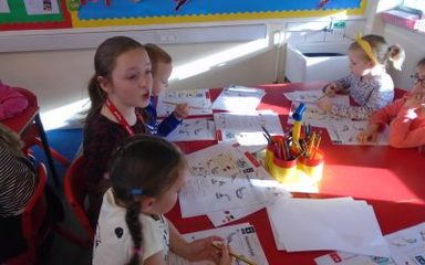Take Over Day in Y1EB