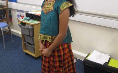 Shruti's Diwali presentation
