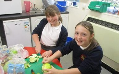 Crumble at Cookery Club