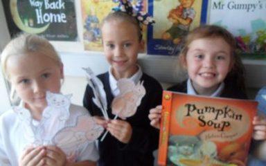 Pumpkin Soup Puppets