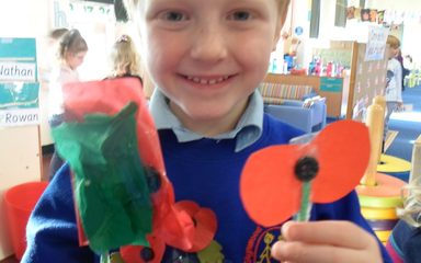 Reception children remember.