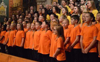 A wonderful performance from the Glynwood Choir