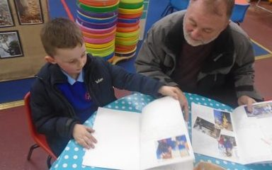 Special Book Time in Reception