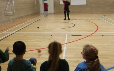 Key Stage 1 Boccia at Joseph Swan