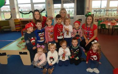 We love our Christmas jumpers!!!