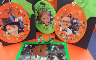 Christmas Cards in Year 2