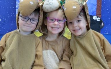 Reception's Wriggly Nativity!