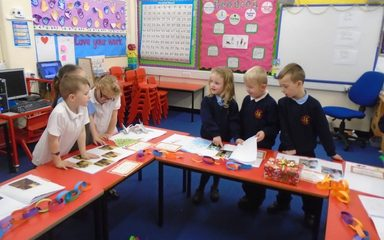 Christmas Themed Homework in Year 1EB