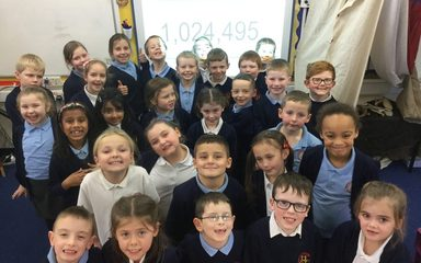 1,000,000 words read in Year 3!
