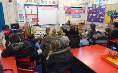 Story Time in Y1EB