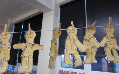 The Gingerbread Man by Reception (video)