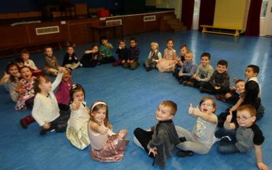 A sneak peak at Year 1NS at their Christmas Party