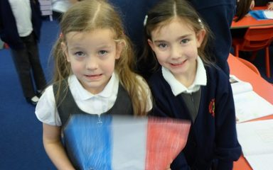 Oh la la! Year 1 France Homework!