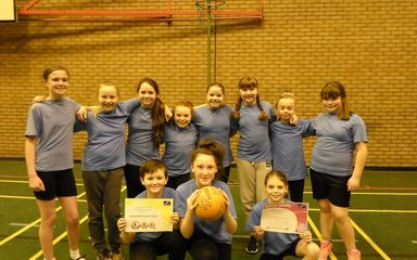 Year 5/6 Netball Finalists and RESPECT award winners!