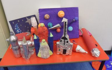 Year 2 Space Creative Homework and Assembly