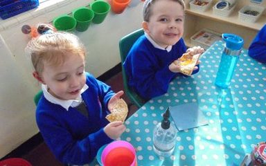 Pancake Day in Reception