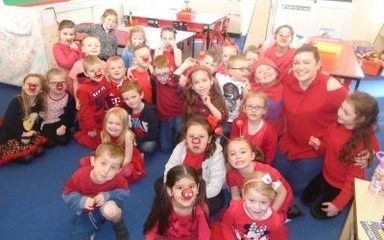 A Fun-Filled Red Nose Day for Year 1
