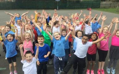 A wonderful basketball afternoon in Year 3!