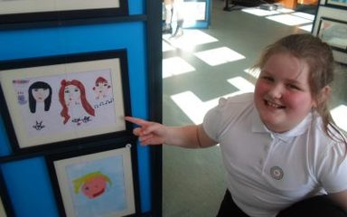 Year 5 view their Art!
