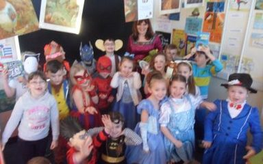 Mrs King's class enjoy World Book Day
