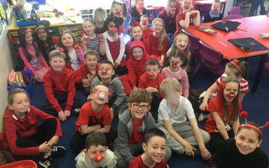 Red Nose Day in Y3!