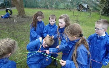 Final Forest School for Mrs Overman's class