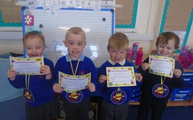 Super Sentence Writers of the Week