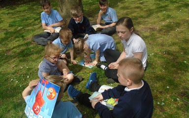 Sponsored Reading Morning in Year 1EB