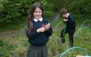 Year 2 enjoy some gardening