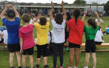 A wonderful KS2 Sports Day!