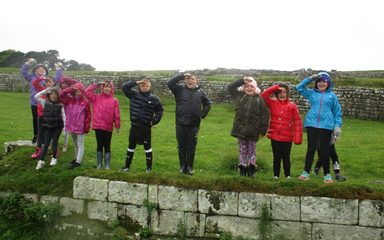 Year 4's Topic Trip to Housesteads Roman Fort