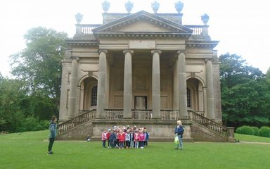 Reception Visit to Gibside