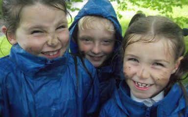 Forest School Fun – even in the rain!!