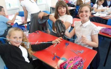 Year 5 enjoy a 'forceful' Science Week!
