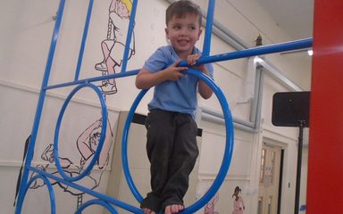 PE in Reception