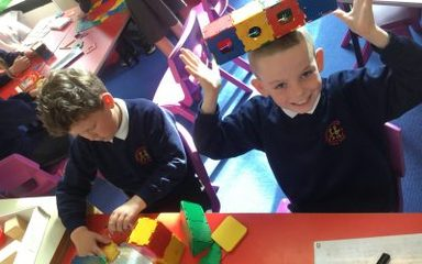 Super 3D maths in Year 3!