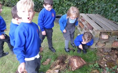 Reception's Outdoor Explorers