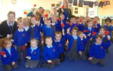Remembrance Day in Nursery