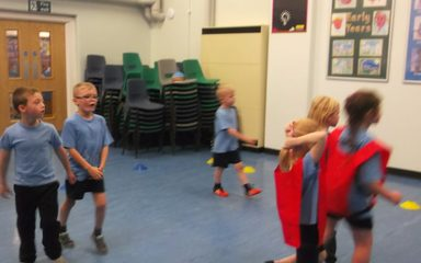 Year 2 PE with the Eagles