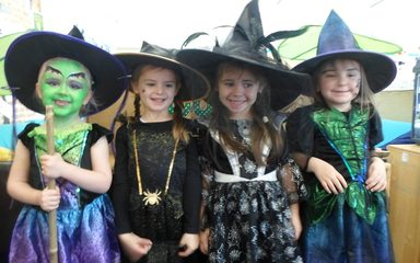 Halloween Fun in Reception