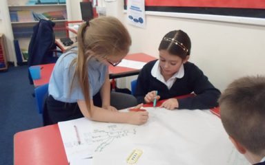 Making links in Maths in Year 5