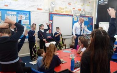 Year 5 Leadership Skills with Mr Bland