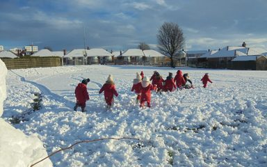 Snow Day in Nursery