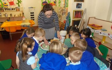 Baking Cakes in Nursery