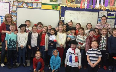 French Day in Year 3 W/E