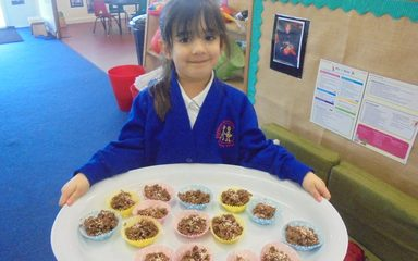 Nursery's Edible Easter Nests