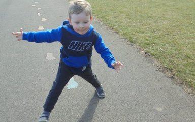 Sports Relief in Nursery